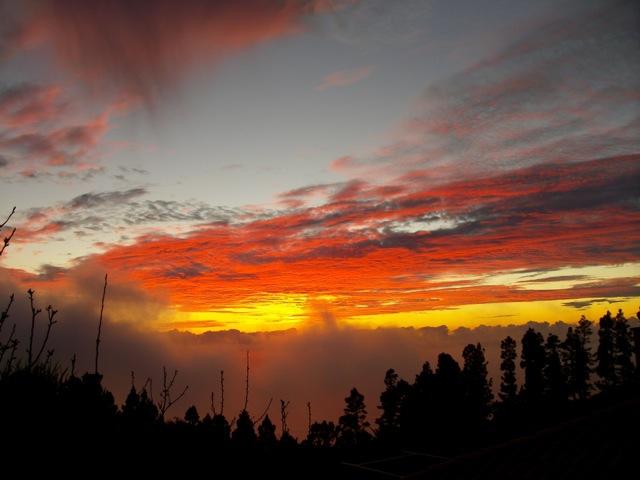 Eine Stimmung nach Sonnenuntergang