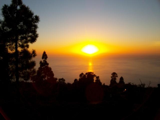 Einer der wunderbaren Sonnenuntergänge